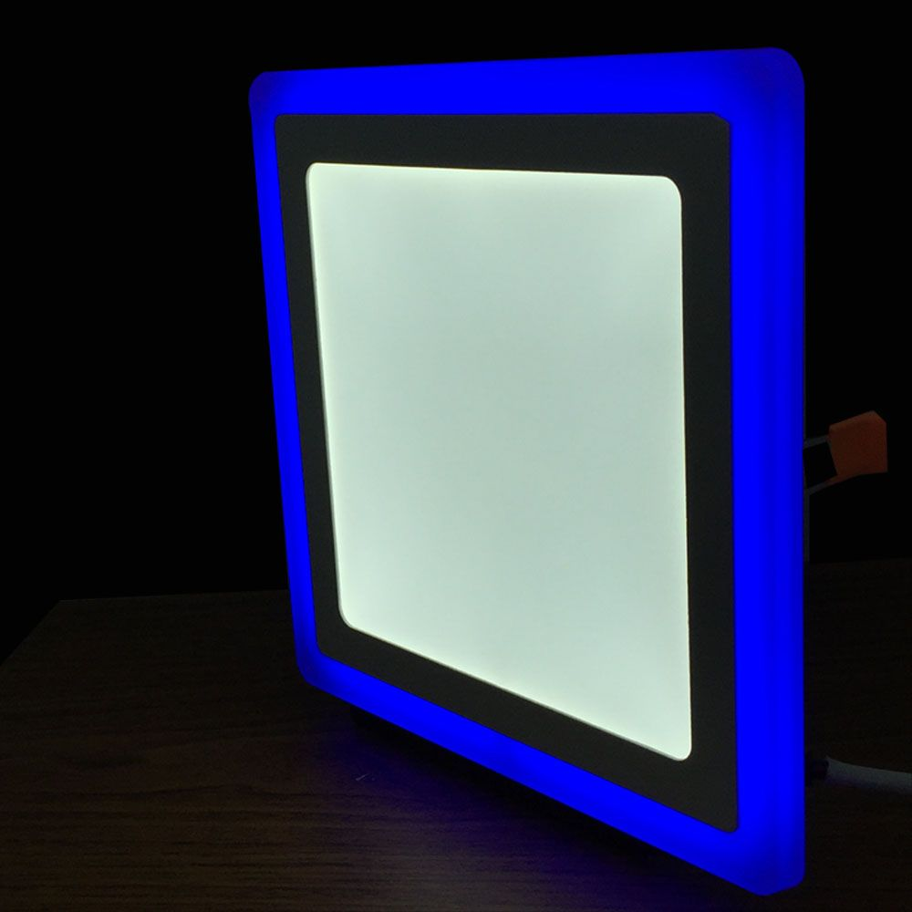 Recessed Led Lighting Pics : Recessed led ceiling lights double colour downlights